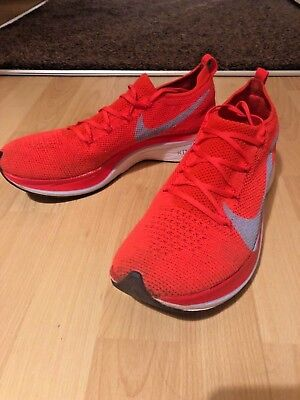 d7866bbb6fae Nike Vaporfly 4% Flyknit UK Size 9 EU 44 US 10 Boxed Worn Preowned Fast