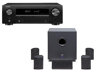 Denon AVRX550BT & Elac Cinema 5.1