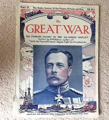 WWI THE GREAT WAR Standard History of the All Europe Conflict HW Wilson PART 13