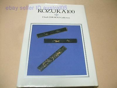 Kozuka 100 Claude Thuault Collection In English Jaapanese Dagger Handles Nihonto