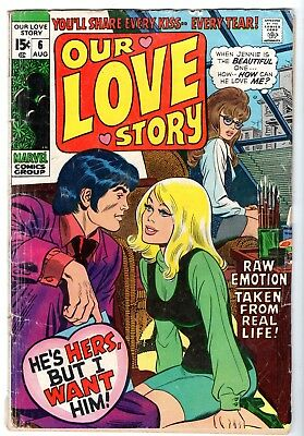 Our Love Story #6, Very Good Condition
