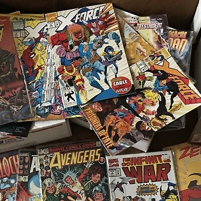 Comic Book Lot Of 10 Random Comics Marvel, DC, Image and Indie