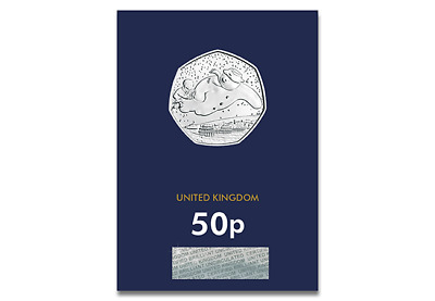 New 2018 The Snowman 50p Certified BU Coin
