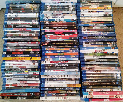 $5.99 BluRay Movie Lot - FREE SHIPPING! - 65+ Titles
