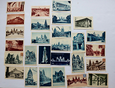 LOT 27 CPA expo coloniale internationale de Paris 1931-Angkor -indochine