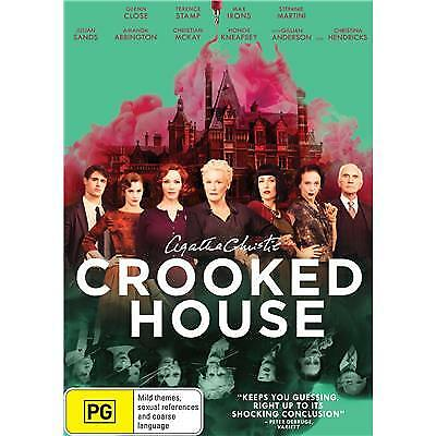 Crooked House Dvd, New & Sealed, 2018 Release, Region 4, Free Post