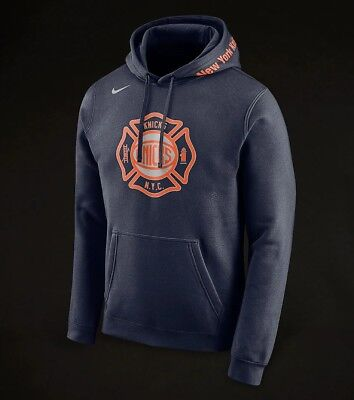 29ae4485f16c BNWT NIKE NBA NEW YORK KNICKS PULLOVER HOODIE Small Size - £35.95 ...