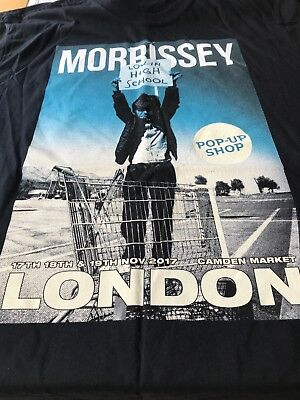 Morrissey Pop Up Camden Only Brand New Official T Shirt XL