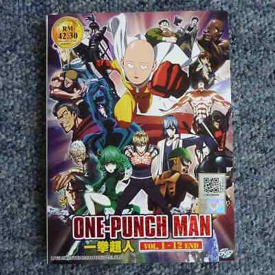 One Punch Man Complete Series 2-disc Region 0 Anime DVD Set