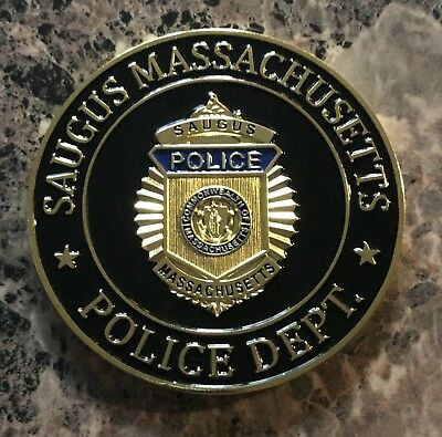 Saugus Police Department Challenge Coin