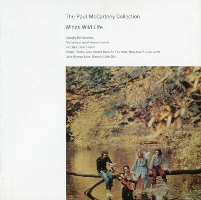 Paul McCartney ‎- Wings Wild Life - CD