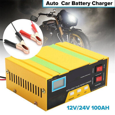 Auto Power Tools Car Battery Charger Intelligent Lead Acid Pulse Repair Starter