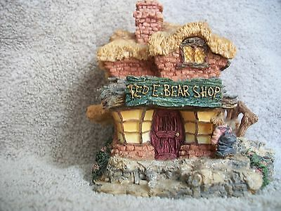 Boyds Bearly-Build Villages Boyds Town Village #1 Ted E Bear Shop 2000