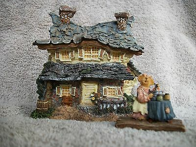 Boyds Bearly-Build Villages Beary Wonderful #4 in Boydsenbeary Acres 2000