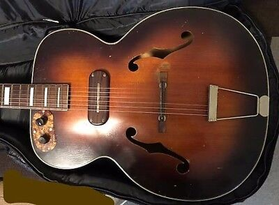 Kay Sherwood Deluxe Archtop Electric Guitar