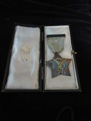 RARE EARLY ANTIQUE 19th CENTURY ENGLISH STERLING MASONIC SERVICE METAL