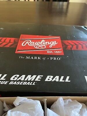 (6) Rawlings Official Major League MLB Baseball Manfred 1/2 DOZEN BALLS