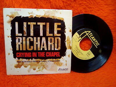 Little Richard  Ep 45T Crying In The Chapel + 3 Atlantic 232033 France