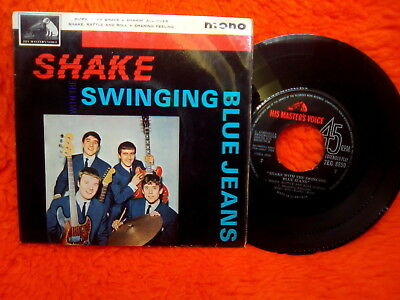 Shake With The Swinging Blue Jeans Ep 45T Hippy Hippy Shake +3 England