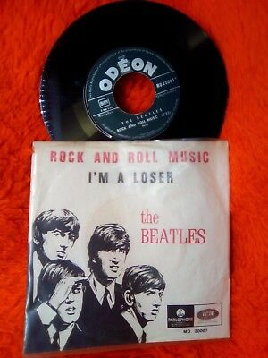 The Beatles Sp 45T I'm A Loser Rock And Roll Music Odeon Mo 20007 France