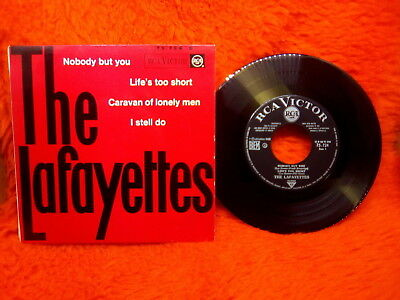 The Lafayettes Ep 45T Nobody But You + 3 Rca Victor 75-724 S France
