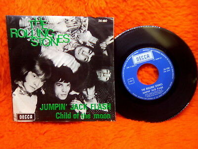The Rolling Stones Sp 45T Jumpin Jack Flash Child Of The Moon Decca 26 180 Belgi
