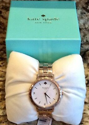 fdb02851faa Kate Spade New York Morningside Scallop Rose Gold Tone Bracelet Watch  KSW1495