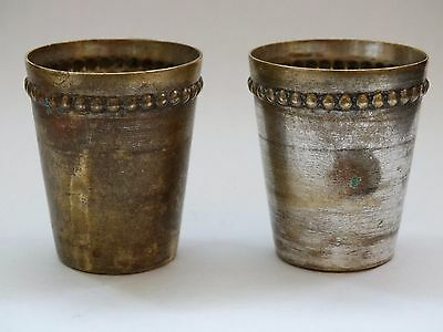 antique vintage cups 2 pcs small size very rare cups