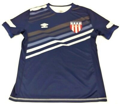 997b7a4b1e7 USA SOCCER NATIONAL Team Blue Umbro Soccer Shirt Men s Size Medium ...