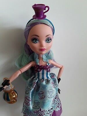 Madeline Hatter Hat-tastic Ever After High Doll Excellent used condition