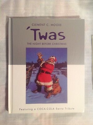 """'Twas the Night Before Christmas"" 2001, C.C. Moore, Coca-Cola Santa Tribute"