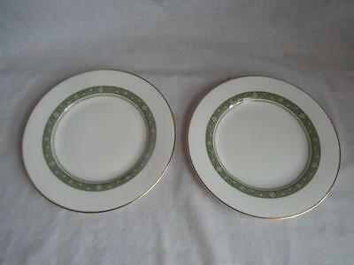 Royal Doulton Rondelay Tea Plate x 2   6 1/2 inch