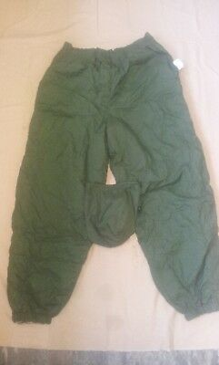 British Army Softy Thermal Reversible Trousers Bnip Green/sand Freepost Sas Para