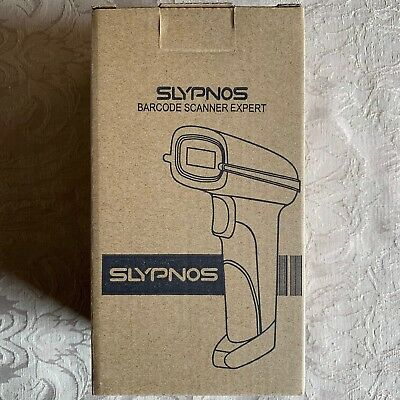 SLYPNOS 433Mhz Wireless Barcode Scanner with 473.5 Yard Range