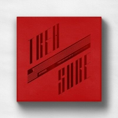 Ateez [Treasure EP.2:Zero To One]2nd Mini CD+Poster/On+Book+Card+etc Kpop Sealed