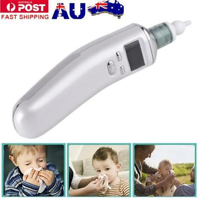 Newborn Baby Nasal Aspirator Electric Nose Cleaner Safe Hygienic Snot Sucker AU!