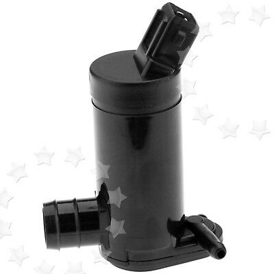 Twin Outlet Windscreen Washer Pump fits for Ford Escort Fiesta Courier Focus