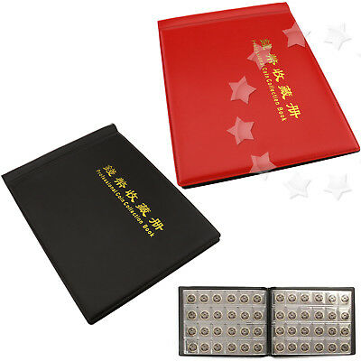 240 Coin Collecting Holders Storage Money Penny Collection Pockets Album Books