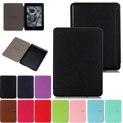 """Ultra thin Leather Smart Case Cover For New Kindle Paperwhite 2018 6"""" 10th Gen"""