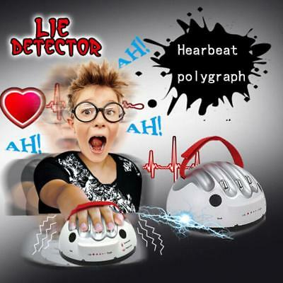 Shocking Liar Micro Electric Lie Detector Test Truth Dare Game MYH