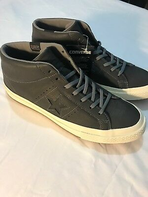 """""""New"""" Converse One Star Mid Counter Climate Dark Grey Shoes 158833-C / SIZE 10"""