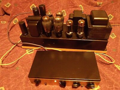 Blueprinted Custom Hi-Fi Monoblock Baldwin PC Tube Amplifier & Dynaco PAM1 Pre