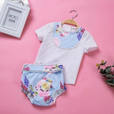 Baby Boys Short Sleeve Outfit Summer Romper Causal Set