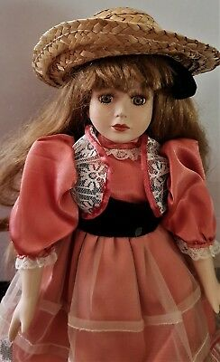 Porcelain Doll 42 cm  - period style outfit