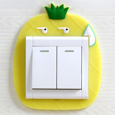 Cartoon Switch Lamp Holder Cover Night Light Dust Household Protective Cover B