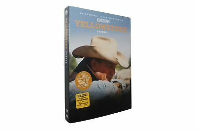 Yellowstone Season 1 (DVD, 4-Disc Set) Free shipping & US  SELLER