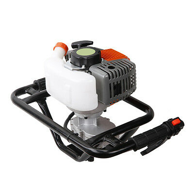 MT8 52cc Gas Power Earth Auger Post Fence Hole Digger Petrol Borer Ground Drill