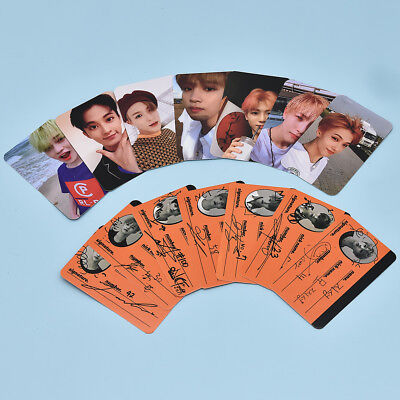 7 Pcs/Set KPOP NCT DREAM Album We Go Up Photo Card Paper Autograph Photocard Hot