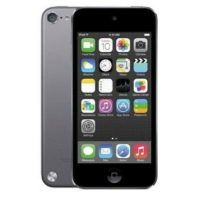 Apple iPod Touch 5th Gen Space Gray (16GB) Front and Rear Camera  A1421