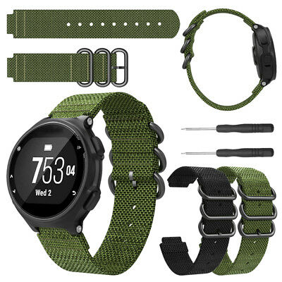 Replacement Military Watch Band Strap For Garmin Forerunner 735XT/220/230/235